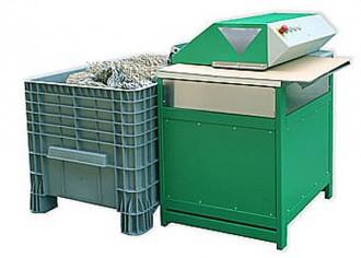 Machine recyclage carton en matériau de calage d'emballage - Devis sur Techni-Contact.com - 2