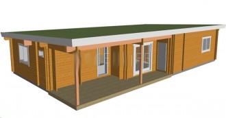 Maison bois à toit plat - Devis sur Techni-Contact.com - 1