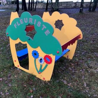 Maisonnette fleuriste jeux pour enfant - Devis sur Techni-Contact.com - 1
