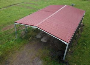 Bâtiment métallique galva structure et couverture  - Devis sur Techni-Contact.com - 1