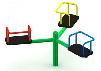 Manège extérieur pour enfants - Devis sur Techni-Contact.com - 6