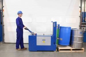 Manipulateur de fût plastique acier carton - Devis sur Techni-Contact.com - 3
