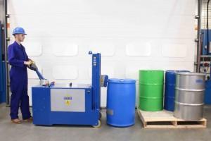 Manipulateur de fût plastique acier carton - Devis sur Techni-Contact.com - 4