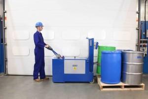 Manipulateur de fût plastique acier carton - Devis sur Techni-Contact.com - 5