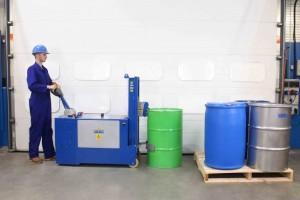 Manipulateur de fût plastique acier carton - Devis sur Techni-Contact.com - 6
