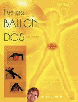 Manuel jaune exercices avec un ballon pour un dos en sante - Devis sur Techni-Contact.com - 1