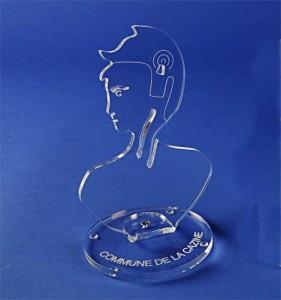 Marianne de bureau plexiglas 21 cm Ht - Devis sur Techni-Contact.com - 2