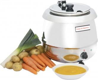 Marmite à soupe inox 9 L - Devis sur Techni-Contact.com - 1