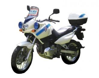 Marquage adhésif moto police municipale - Devis sur Techni-Contact.com - 1