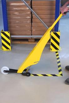 Marquage au sol adhésif en acier - Devis sur Techni-Contact.com - 10