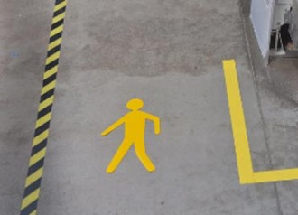 Marquage au sol de sécurité - Devis sur Techni-Contact.com - 3