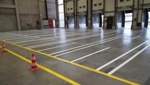 Marquage au sol entrepôt - Devis sur Techni-Contact.com - 1