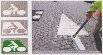 Marquage au sol thermoplastique pour routes - Devis sur Techni-Contact.com - 2