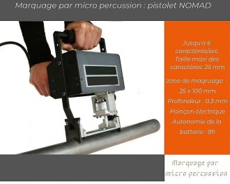 Pistolet de marquage micro percussion - Devis sur Techni-Contact.com - 1