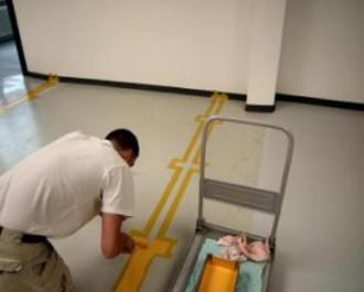 Marquage peinture de sol industriel - Devis sur Techni-Contact.com - 1