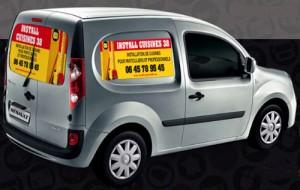 Signalétique publicitaire pour voiture - Devis sur Techni-Contact.com - 1