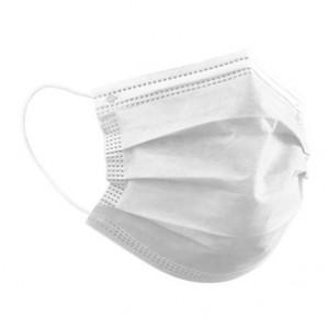 Masque de protection  - 3 Plis - NF EN 14683 - Devis sur Techni-Contact.com - 1