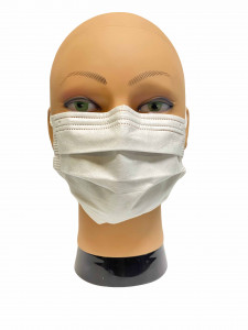Masque de protection  - 3 Plis - NF EN 14683 - Devis sur Techni-Contact.com - 2