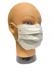 Masque de protection  - 3 Plis - NF EN 14683 - Devis sur Techni-Contact.com - 3