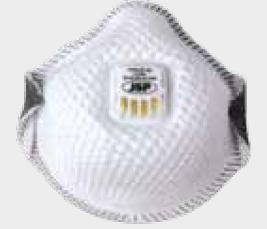 Masque anti poussière valve d'expiration - Devis sur Techni-Contact.com - 1