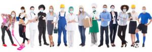 Masque chirurgical jetable fabriqué en France - Devis sur Techni-Contact.com - 1