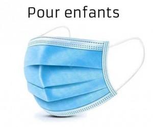 Masque chirurgical pour enfants (lot de 2000 masques) - Devis sur Techni-Contact.com - 1