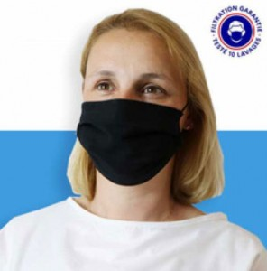 Masque de protection anti projection en tissu - Devis sur Techni-Contact.com - 1