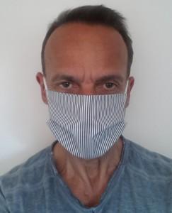 Masque de protection en coton lavable 60° - Devis sur Techni-Contact.com - 1