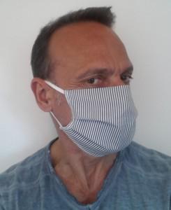 Masque de protection en coton lavable 60° - Devis sur Techni-Contact.com - 2