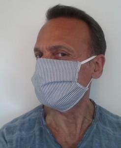 Masque de protection en coton lavable 60° - Devis sur Techni-Contact.com - 3