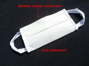 Masque de protection lavable 60° en 8 jours chez vous - Devis sur Techni-Contact.com - 4