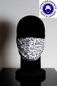 Masque DGA catégorie 1 personnalisé lavable à 60° - Devis sur Techni-Contact.com - 1
