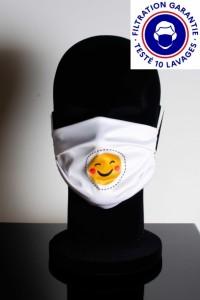 Masque DGA catégorie 1 personnalisé lavable à 60° - Devis sur Techni-Contact.com - 4