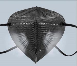 Masque FFP2  noir - Devis sur Techni-Contact.com - 4