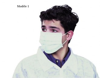 Masques de protection jetables - Devis sur Techni-Contact.com - 1