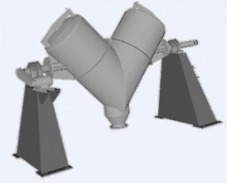Mélangeur industriel en V - Devis sur Techni-Contact.com - 2