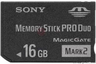 Mémory Stick PRO 16GO - Devis sur Techni-Contact.com - 1