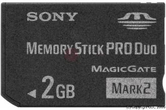 Mémory Stick PRO 2GO - Devis sur Techni-Contact.com - 1
