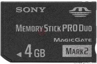 Mémory Stick PRO 4GO - Devis sur Techni-Contact.com - 1