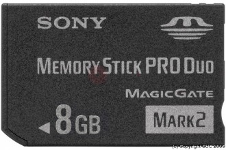Mémory Stick PRO 8GO - Devis sur Techni-Contact.com - 1