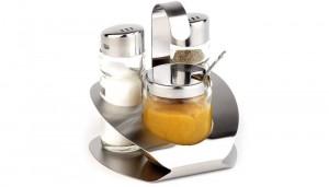Ménagère 3 pièces poivre, sel, moutarde - Devis sur Techni-Contact.com - 1