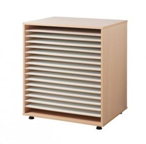 Meuble à dessin 16 cases - Devis sur Techni-Contact.com - 1
