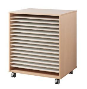 Meuble à dessin 16 cases - Devis sur Techni-Contact.com - 2