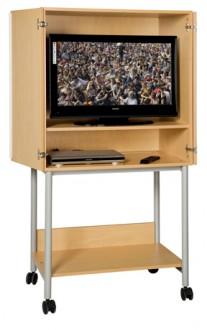 Meuble audiovisuel haut 2 portes - Devis sur Techni-Contact.com - 1