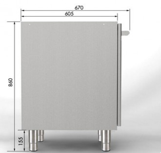 Meuble bas 3 portes inox - Devis sur Techni-Contact.com - 2