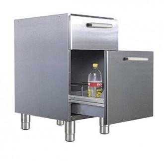 Meuble bas avec casier à bouteilles - Devis sur Techni-Contact.com - 1