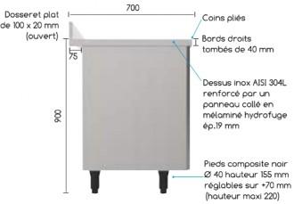 Meuble bas cuisine de rangement - Devis sur Techni-Contact.com - 2