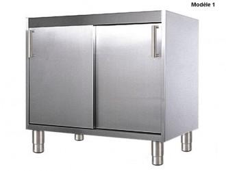 Meuble bas portes coulissantes - Devis sur Techni-Contact.com - 1