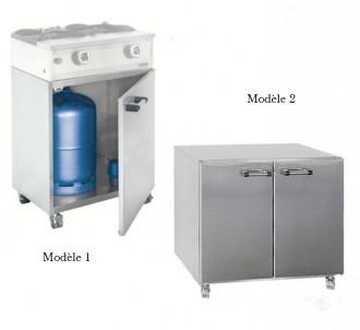 Meuble bas pour réchauds à gaz - Devis sur Techni-Contact.com - 1
