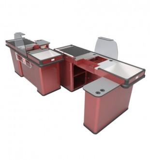 Meuble caisse et comptoir pour commerce - Devis sur Techni-Contact.com - 1
